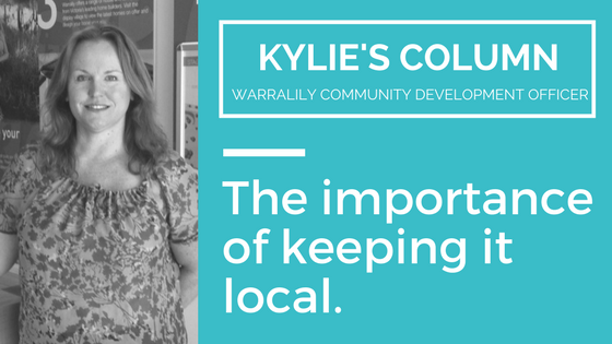 The importance of keeping it local