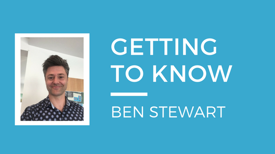 Getting to know Ben Stewart