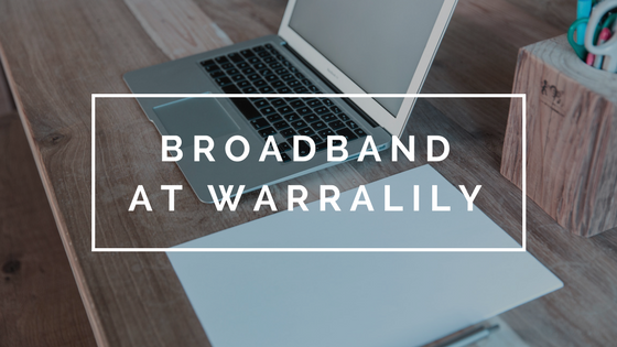 High Speed Broadband at Warralily