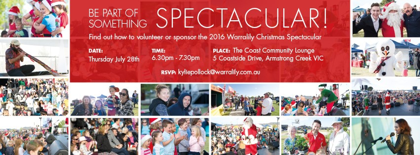 Christmas Spectacular 2016 Volunteer & Sponsorship Opportunities