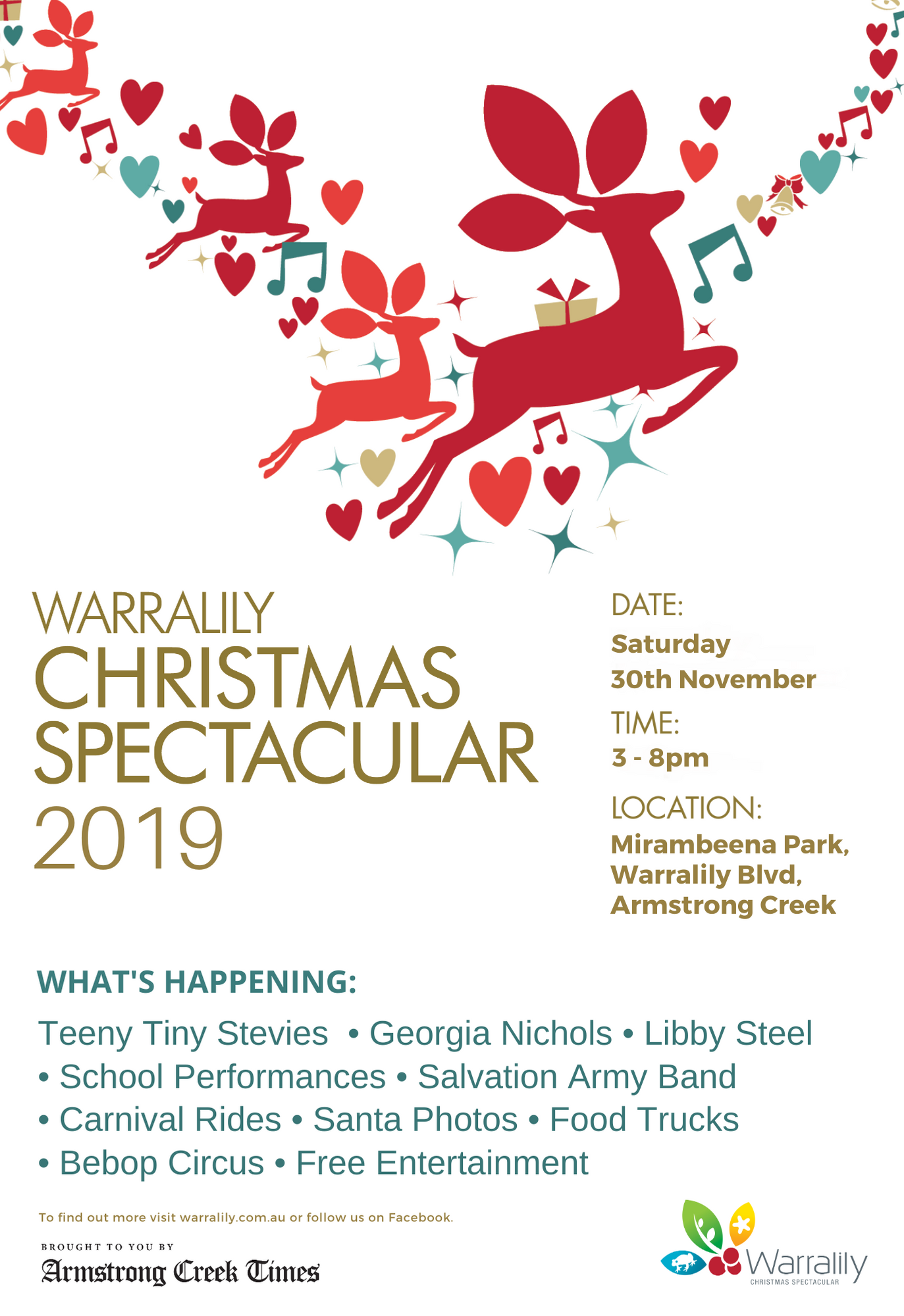 Warralily Christmas Spectacular 2019